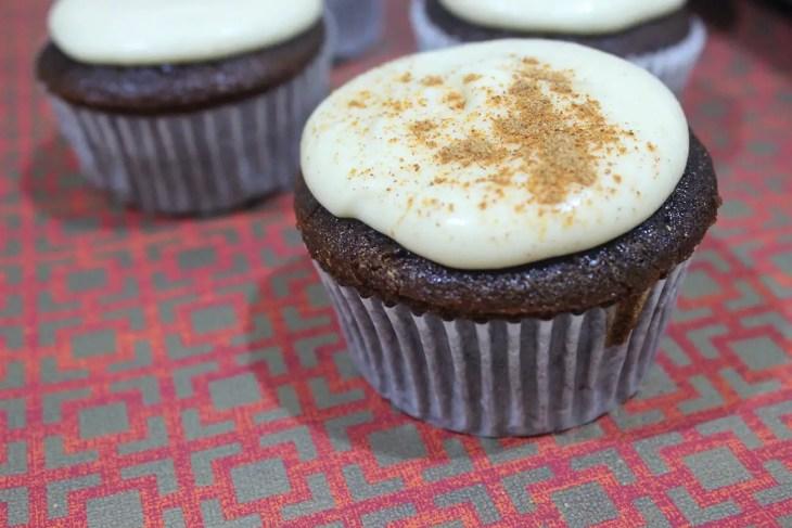 Cupcakes de chocolate y chai receta