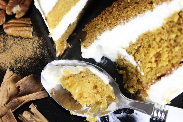 Receta de pastel de camote