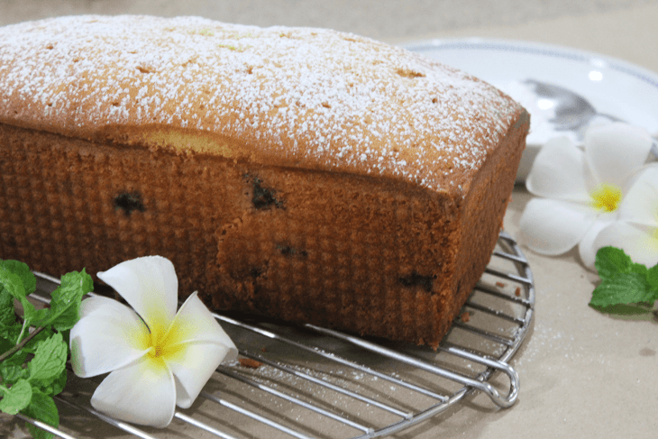 How to make blueberry pound cake