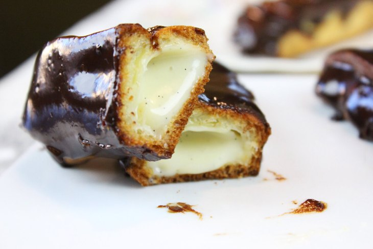 Eclairs traditional recipe