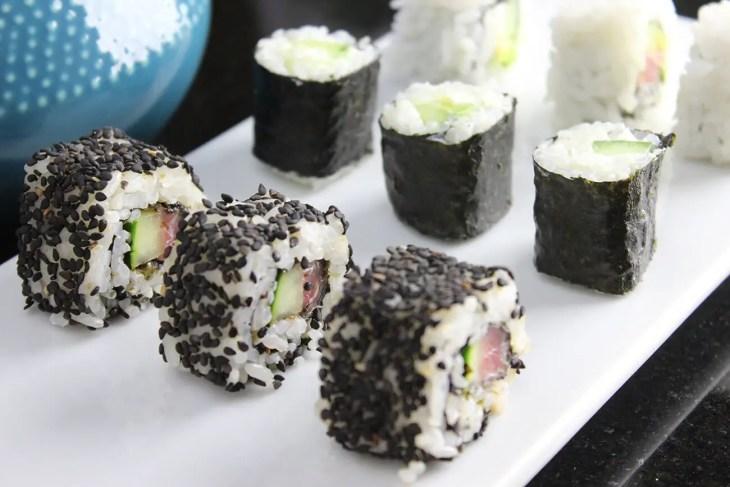 Maki sushi roll recipe