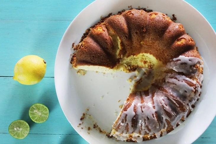 Bizcocho o panqué de limón receta