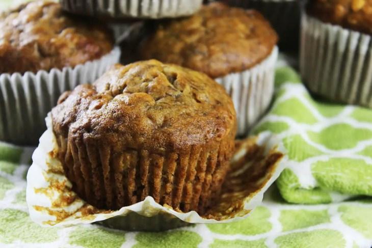 Banana oatmeal muffins recipe