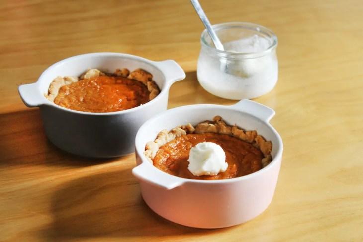 Mini tartas de boniato receta