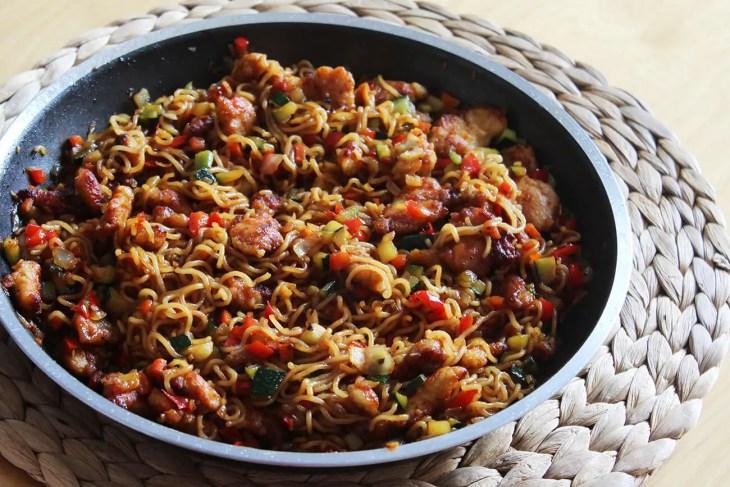Receta de comida china casera