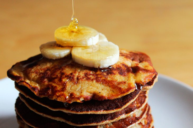 How to make healthy banana panckes