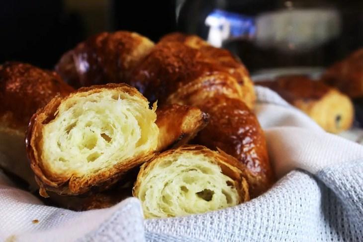 Croissants clásicos receta