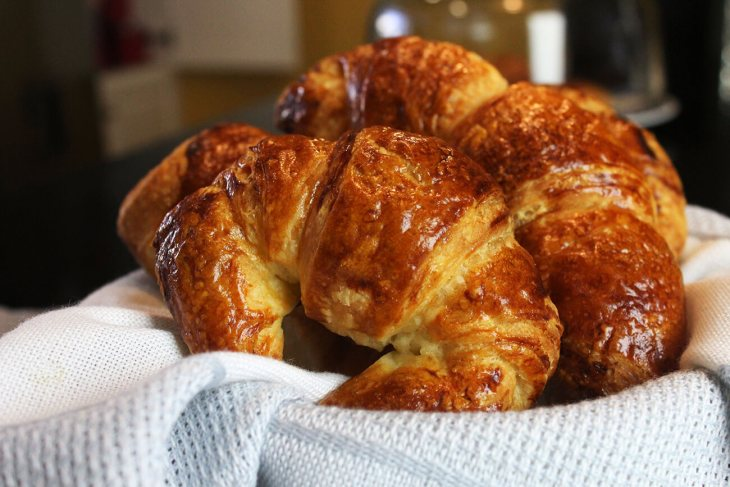 Croissants receta paso a paso