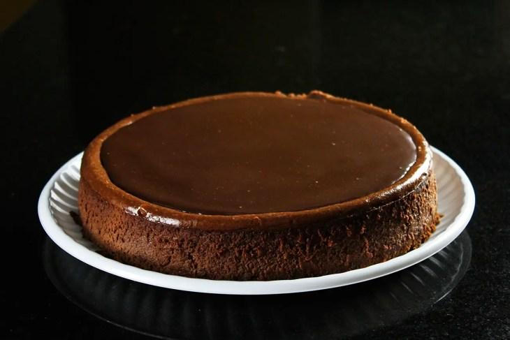 cheesecake de chocolate receta
