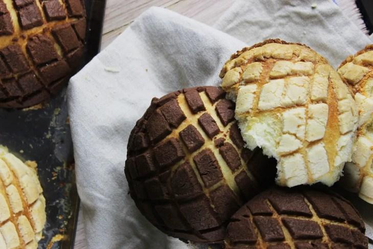 Receta para hacer pan dulce mexicano conchas
