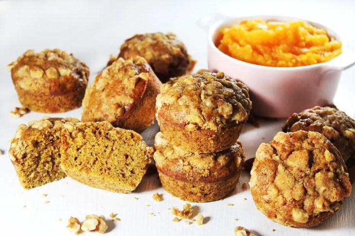 Pumpkin muffins recipe homemade