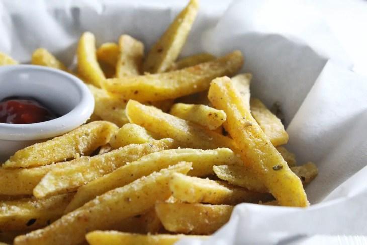 Receta de patatas fritas crujientes