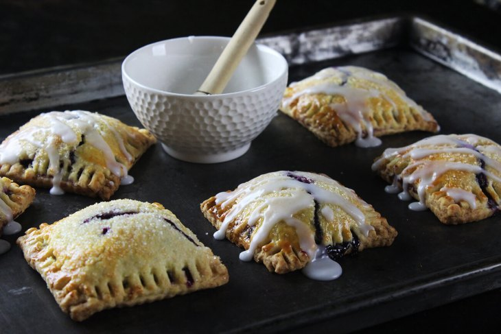 How to make blueberry pop tarts