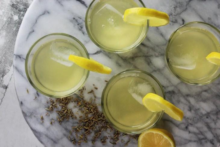 Receta limonada de lavanda