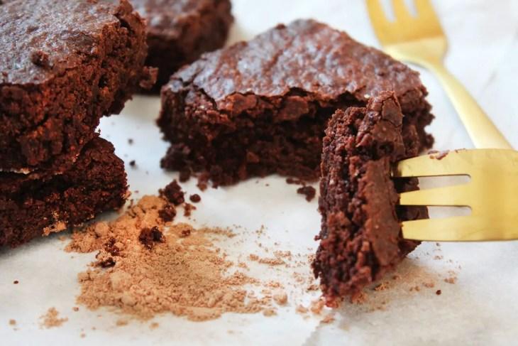 Receta facil de brownies