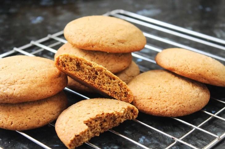 Receta de galletas de melaza