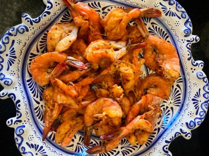 Spiced shrimp recipe