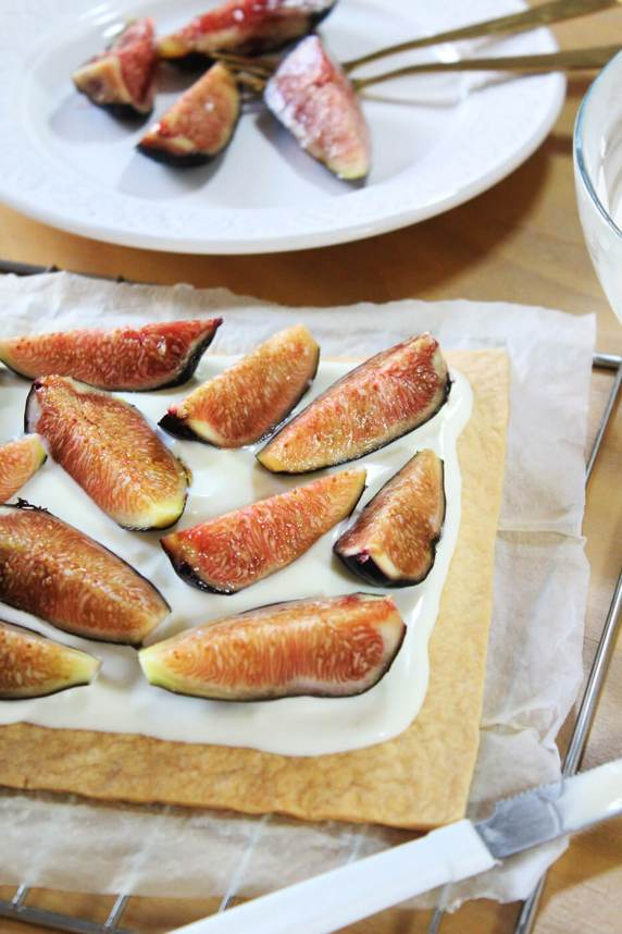 Fig tart recipe