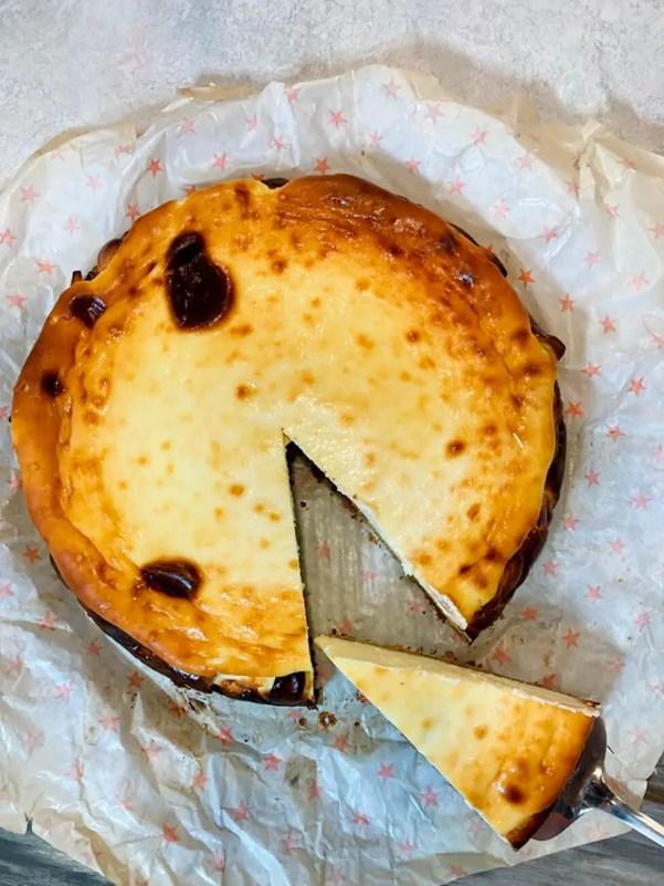 How to make spanish basque cheesecake