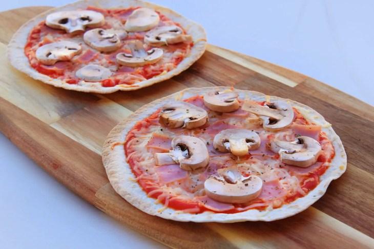 Pizzadilla recipe