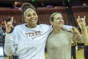 Jada Underwood and Coach Carey enjoying this win!