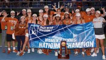 Texas Women's Tennis NCAA Champions