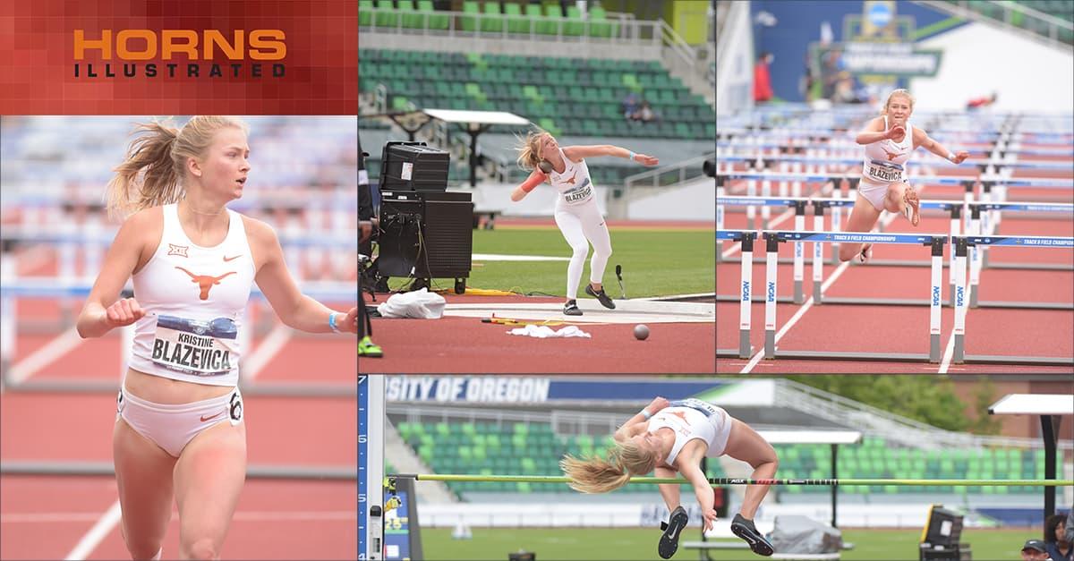 Kristine Blazevica NCAA Championship Heptathlon