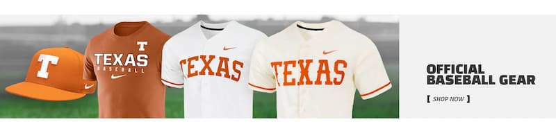 Official Texas Baseball Gear