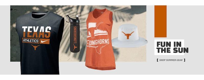 Texas Longhorns Summer Wear