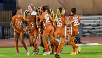 Texas Soccer after win against Abilene Christian