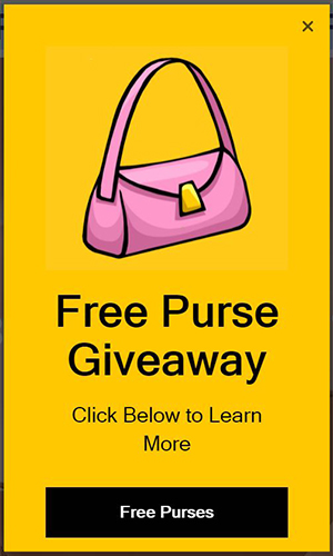 Bougie Booth Free Purse Giveaway