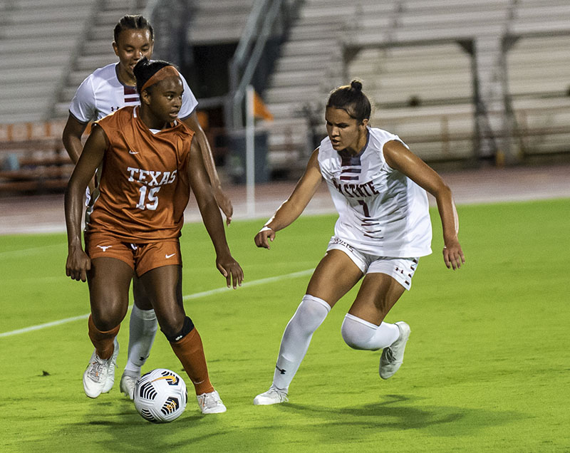 2021 Texas Soccer against New Mexico State