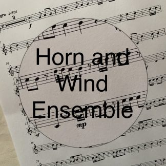Music - Horn and Wind Ensemble