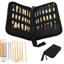 Artist Modelling 14 pc Tool Set With Carry Case