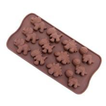NZ-0656 Dinosaur Silicone Chocolate Craft Mold_0000_Layer 8