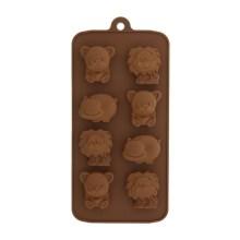 NZ-0500 Silicone Hippo, Bear & Lion Chocolate Mold_0001_Layer 5