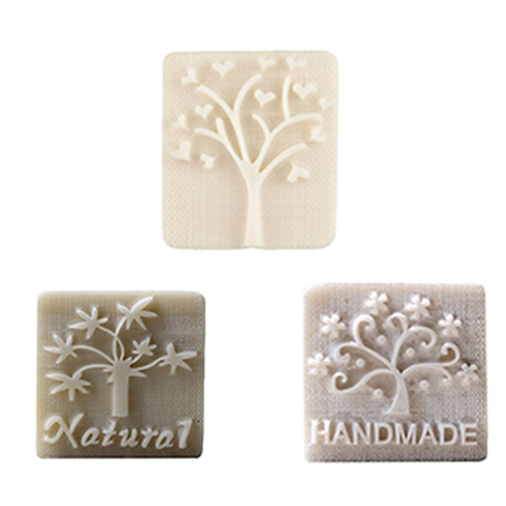 Acrylic Handmade Cold Process Soap Stamps