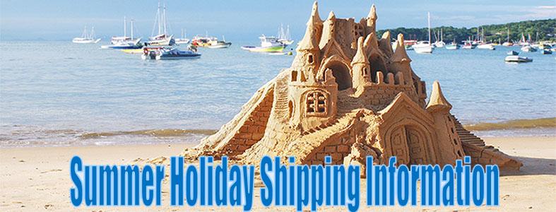summer holiday shipping