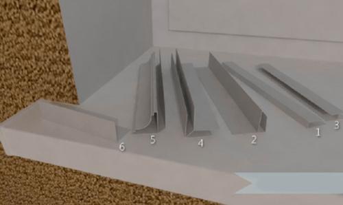 Plafonul panourilor din plastic face singur