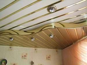 Cum se separă plafonul
