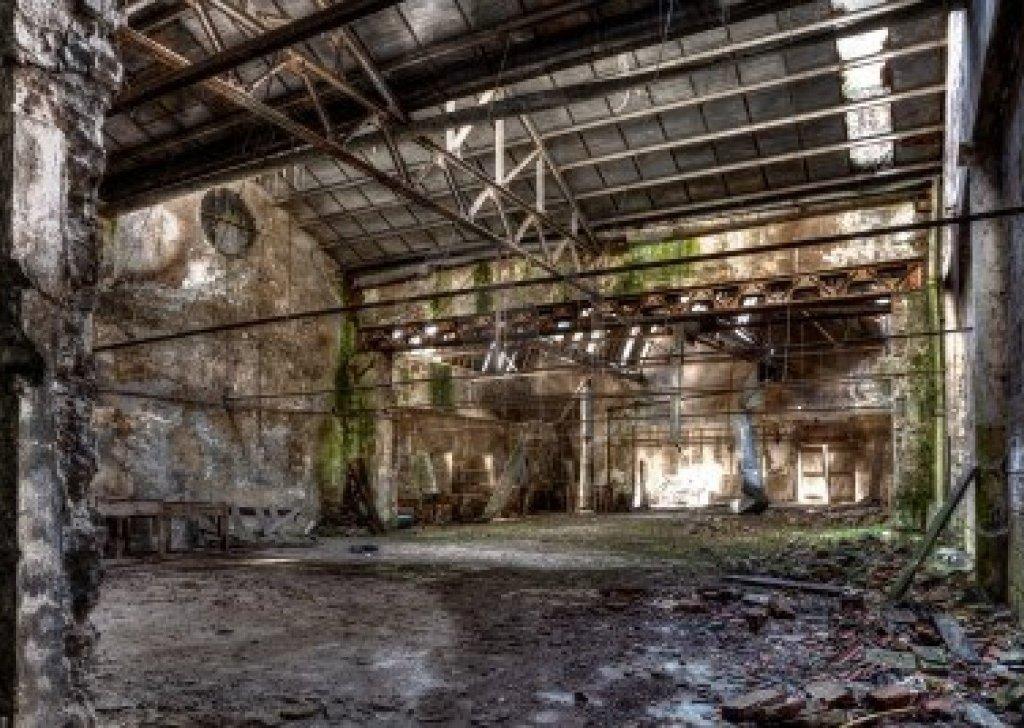 Creepy Abandoned Industrial Noises Audio Atmosphere