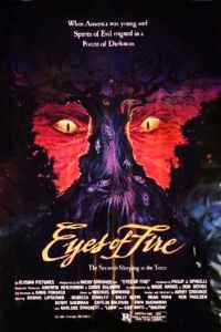 "Poster for the movie ""Eyes of Fire"""