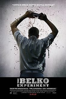 Image result for The Belko Experiment uk poster