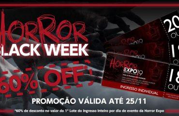 Horror Black Week: ingressos com 60% de desconto até o dia 25/11