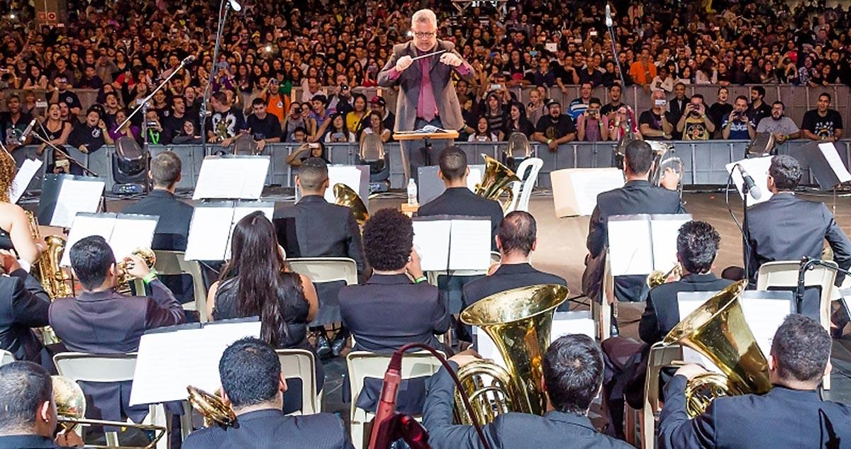 Orquestra de Metais da Banda Marcial de Cubatão
