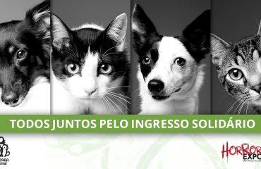 AMPARA Animal será beneficiária das doações do Ingresso Solidário na Horror Expo 2019