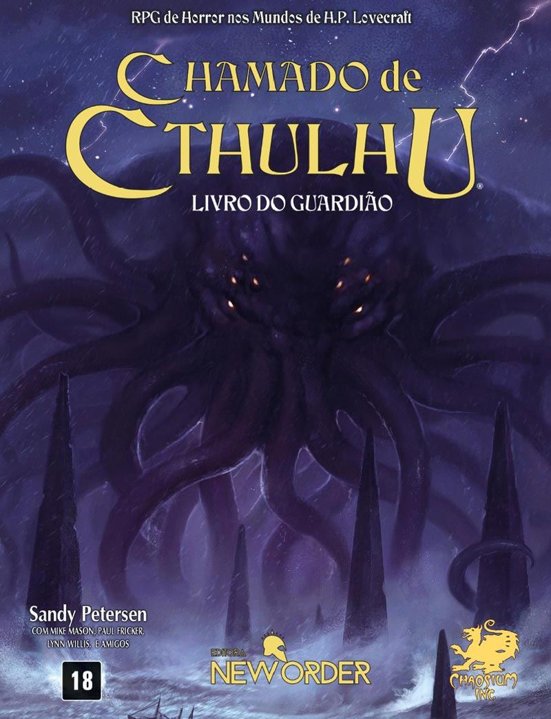 Chamado de Cthulhu | Imagem: Editora New Order