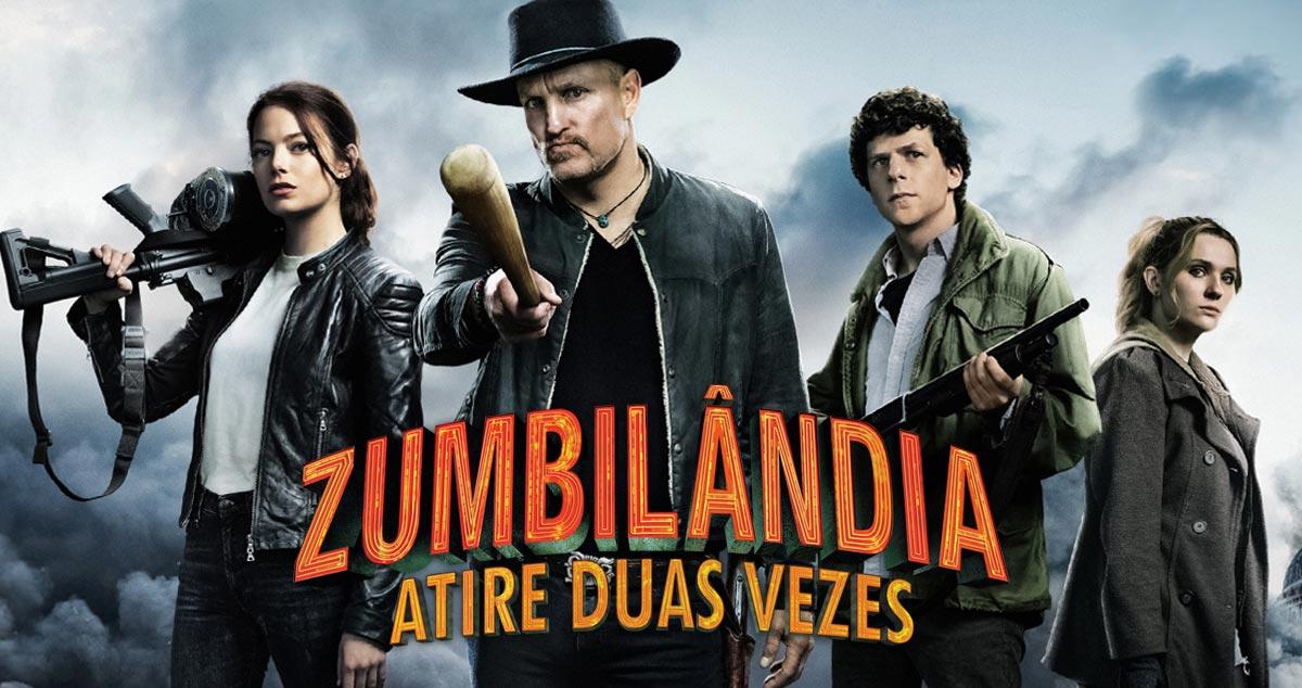 Zumbilândia: Atire Duas Vezes terá pré-estreia exclusiva na Horror Expo 2019