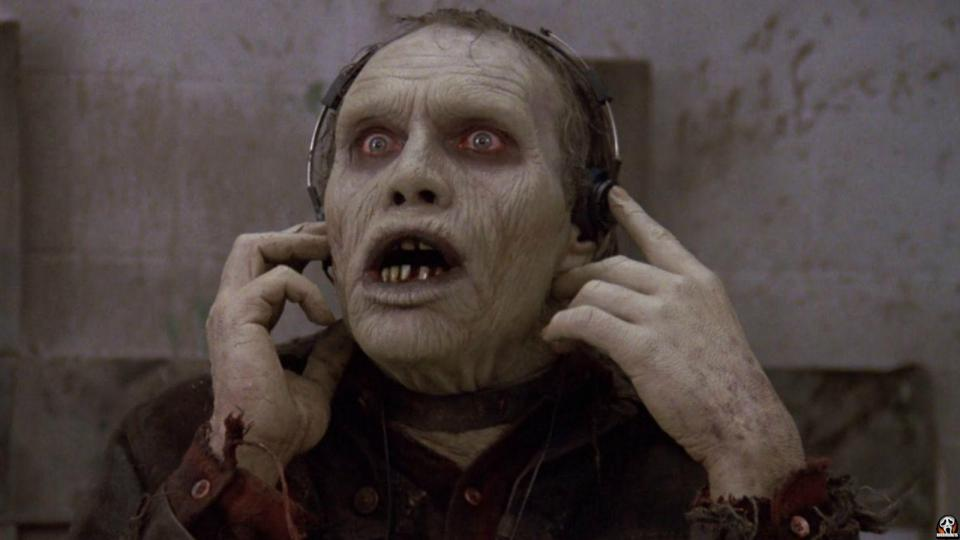 Bub the zombie everyone loves from Day of the Dead 1985 Romero Film.