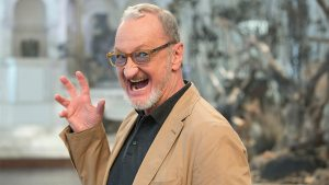 Robert Englund as Freddy 2020 in covid-19 panic